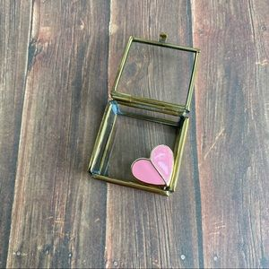 Jewelry - Wear Your Pink Heart on Your Finger Gold Ring